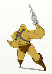 By the Power of Greyskull... by S-H-A-N-D-O-R