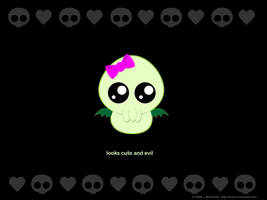 Baby Cthulhu - It's a Girl by creampuf
