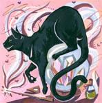 cat by kiallay