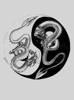 YY Dragons by pyrethedragonmaster