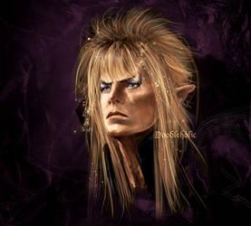 Jareth Portrait by Doodleholic