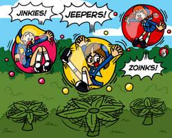 Commission: Smuggle Bubbles 1 by Alenonimo
