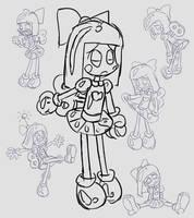 Sketch: Small Wonder by Alenonimo