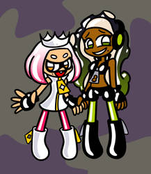 Pearl and Marina by Alenonimo