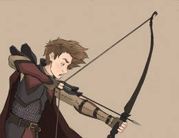 An Obviously Bored Archer of Middle-earth by Tom-the-S