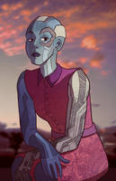 Nebula, All Dressed Up and Slightly Bored by Tom-the-S