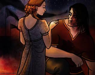 He Was No True Knight by Annie-Stuart