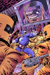 Captain America! by RobWSales