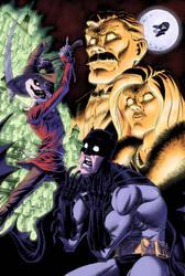 Batman's Bad Day by RobWSales