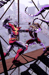 Colossus vs. Omega Red by RobWSales