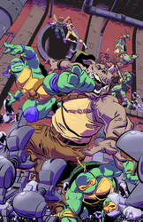 Ninja Turtles by RobWSales