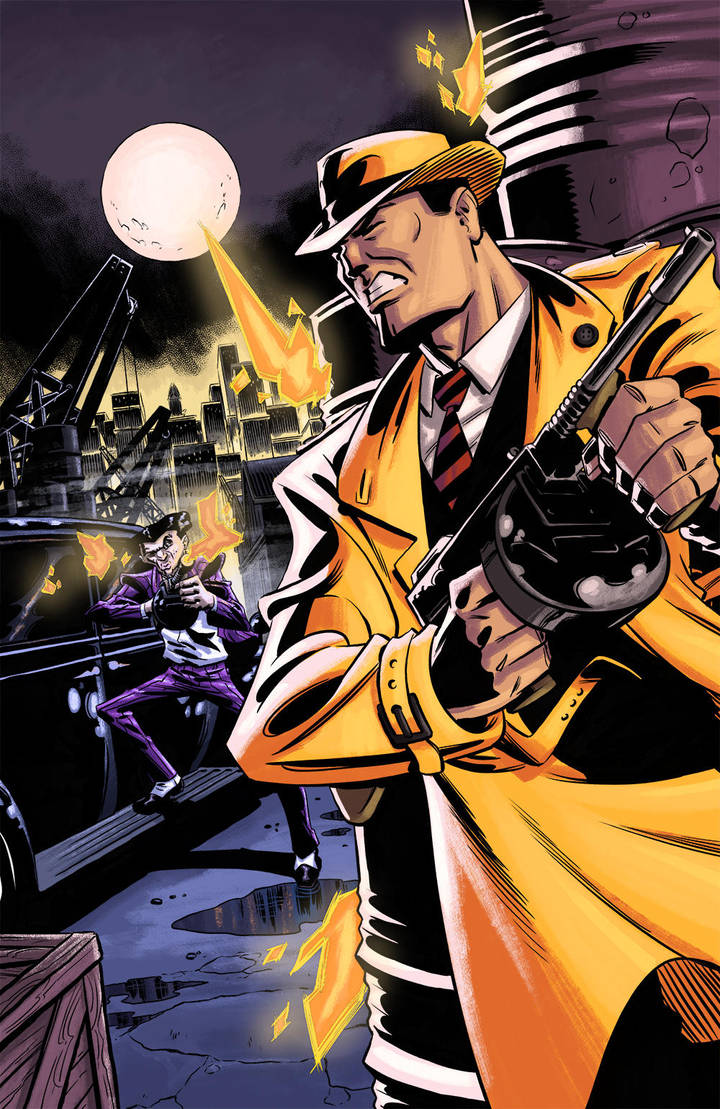 Dick Tracy by RobWSales