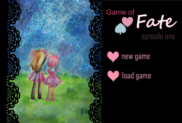 Game of Fate Episode One . Title Screen by Frogberri