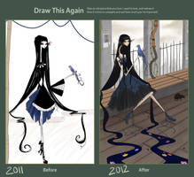 Draw This Again Challenge: Song of the Bird by t-i-l-d