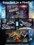 Firefly Ship cutaways by Casperium