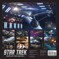 Star Trek: Ships of the line 2014 Calendar by Casperium