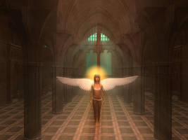 Teen Angel by Casperium