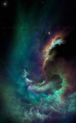 Iris Nebula by Casperium