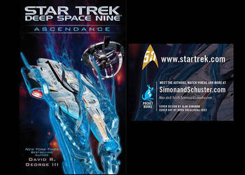 Star Trek  DS9 Ascendance  Cover by Drexler-Ries by Casperium