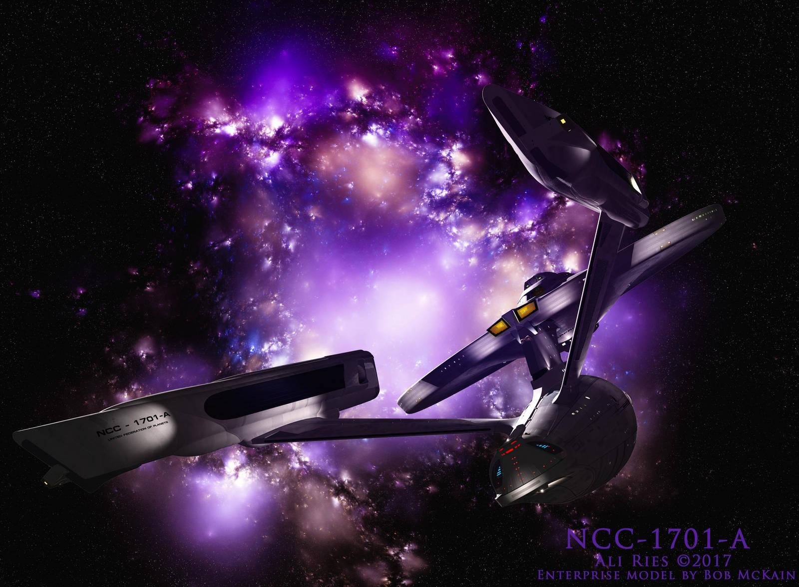 NCC-1701-A by Ali Ries 2017 by Casperium
