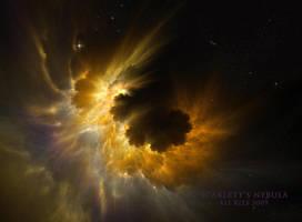 Scarlett's Nebula by Ali Ries 2009 by Casperium