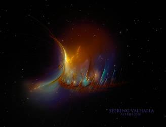 Seeking Valhalla by Ali Ries 2018 by Casperium
