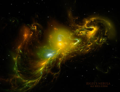 Rigel's Nebula by Ali Ries 2018 by Casperium