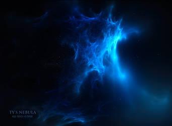 Ty's Nebula by Ali Ries 2018 by Casperium
