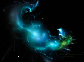 The Rocketman Nebula by Ali Ries 2018 by Casperium