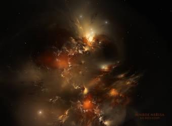 Sunrise Nebula by Ali Ries 2019 by Casperium
