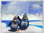 Penguin Vacation by Casperium