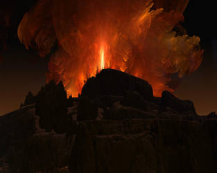Volcano by Casperium