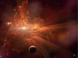 Luminara Nebula by Casperium