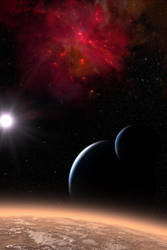 Treconis Nebula by Casperium