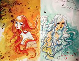 Fall into Winter by Elentori