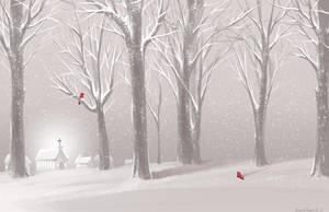 First Snow by Elentori