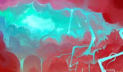 Skyfall by Elentori