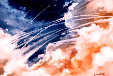 Cloud Burst by Elentori