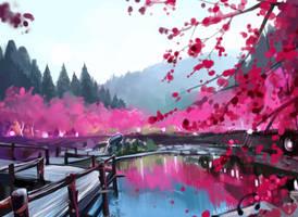 Sakura by Elentori