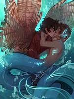 Kiss Kiss Drown at Sea by Elentori