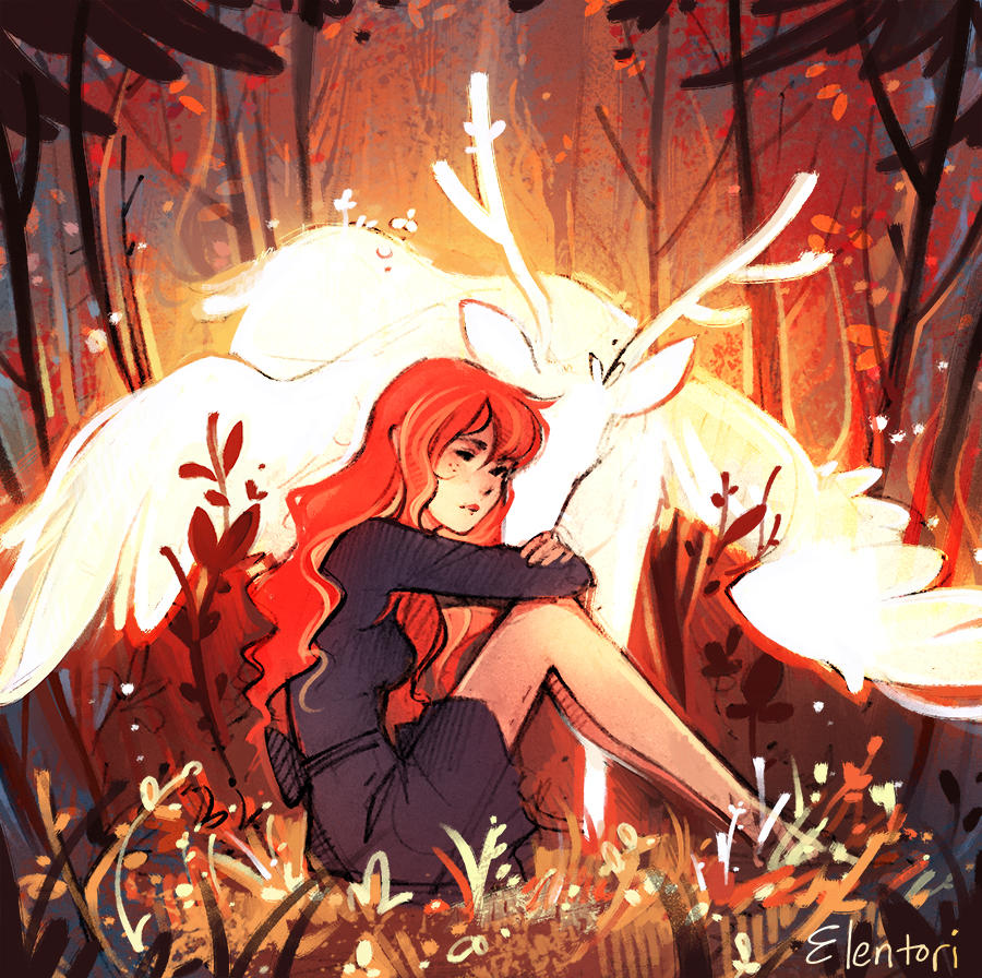 Spirit Of Fall by Elentori