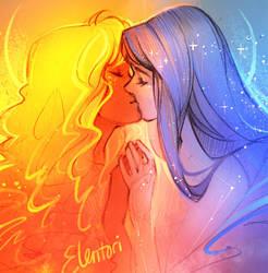 Sol y la Luna by Elentori