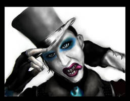 + Marilyn Manson + by silence-within