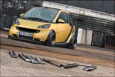 Smart Car by octagonalpaul