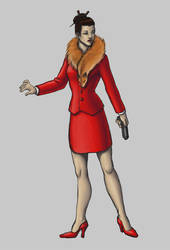 Character/Costume design2: Business Woman by EricaLange