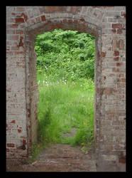 Door to heaven by Inachis-Io