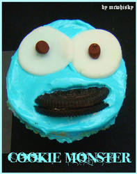 Cookie Monster by mcrufus