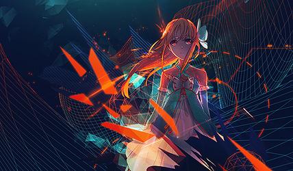 Glow Girl by Wishlah