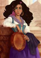 The Gypsy Girl by TottieWoodstock