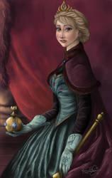 Queen Elsa of Arendelle by TottieWoodstock